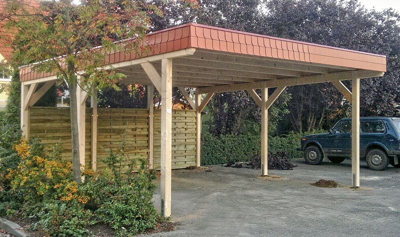 Doppel-Carport in Wandlitz