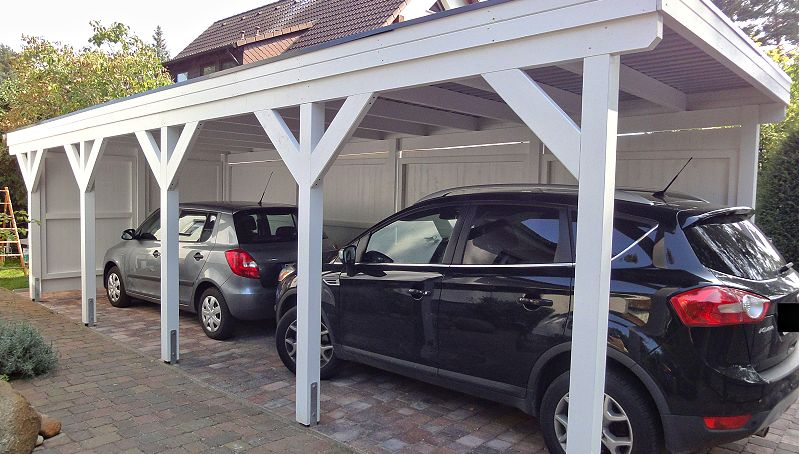 Tandem-Carport in Berlin