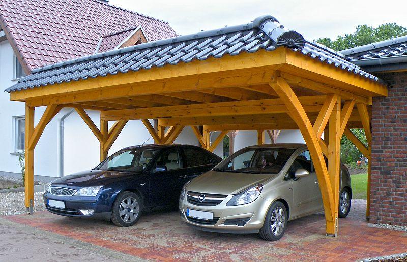 Doppel-Carport, Angermünde/Uckermark