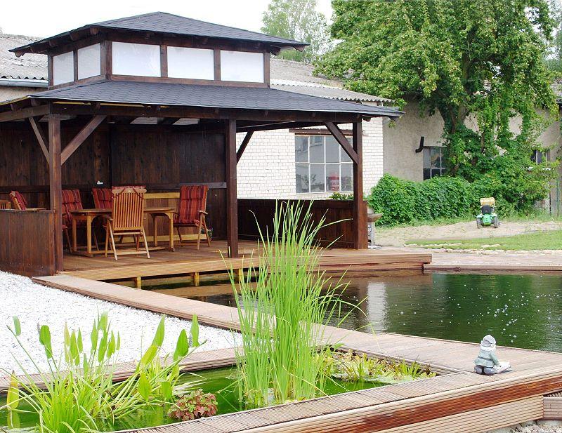 Pavillon-Pagode in Prenzlau